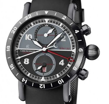 Chronoswiss Timemaster Chronograph GMT S-RAY 007