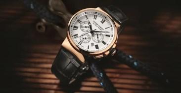 Neuer Marine Chronograph von Ulysse Nardin mit neuem Manufaktur-Chronographenwerk UN-150