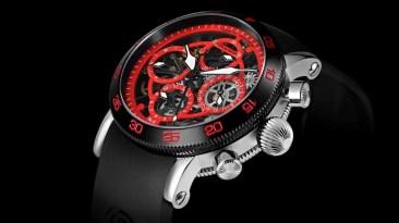 Limitierte Chronoswiss Timemaster Edition zum Singapur Grand Prix