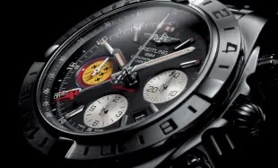 Breitling Cronomat 44 gmt patruille suisse 50th anniversary
