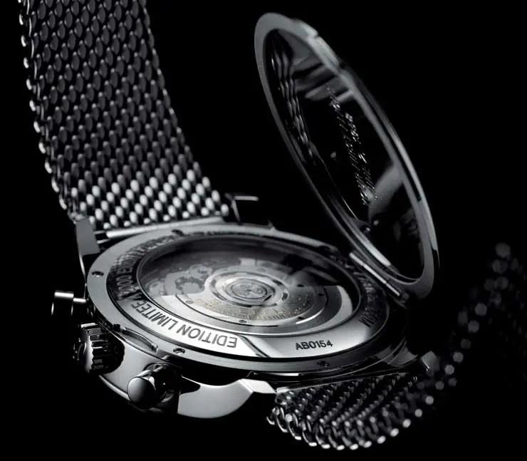 Breitling Transocean Chronograph Edition Gehäuse-Rückseite