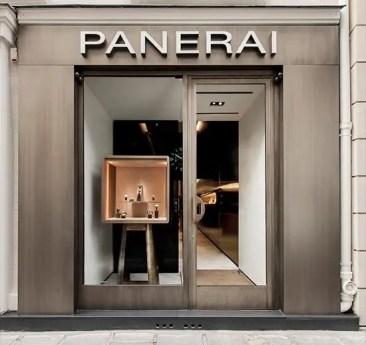 Officine Panerai eröffnet in Paris die erste von Patricia Urquiola gestaltete Boutique