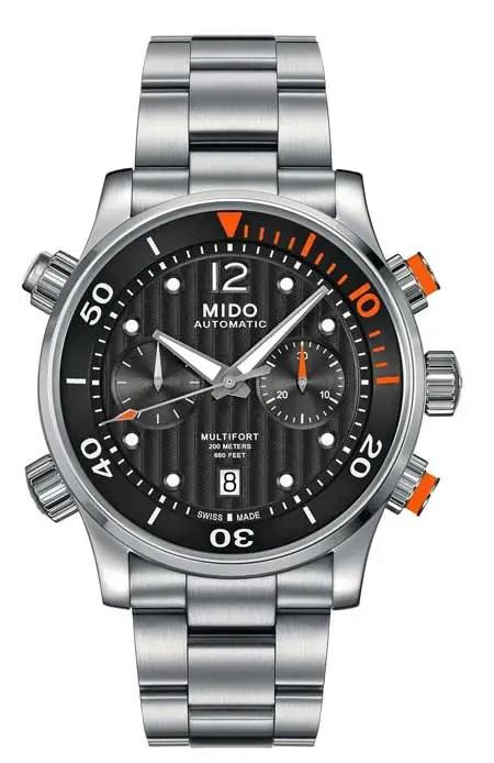 Mido_Multifort_Chronograph 60 Edelstahl