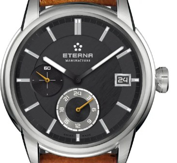 Eterna Adventic GMT mit Eterna Manufakturkaliber