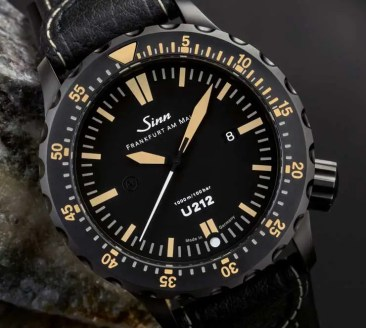 Taucheruhr aus U-Boot-Stahl: Sinn U212 S E
