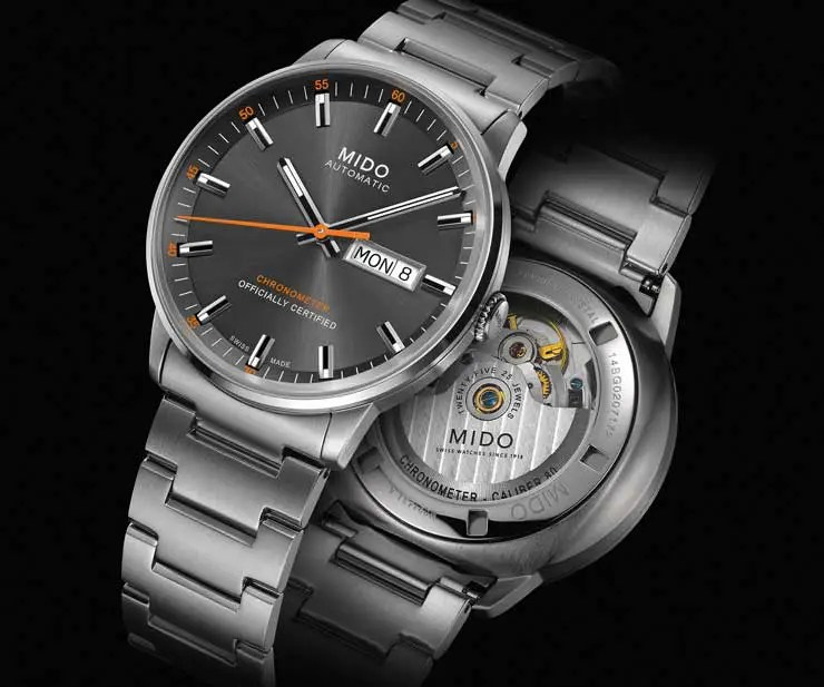 Mido Commander Caliber 80 Chronometer