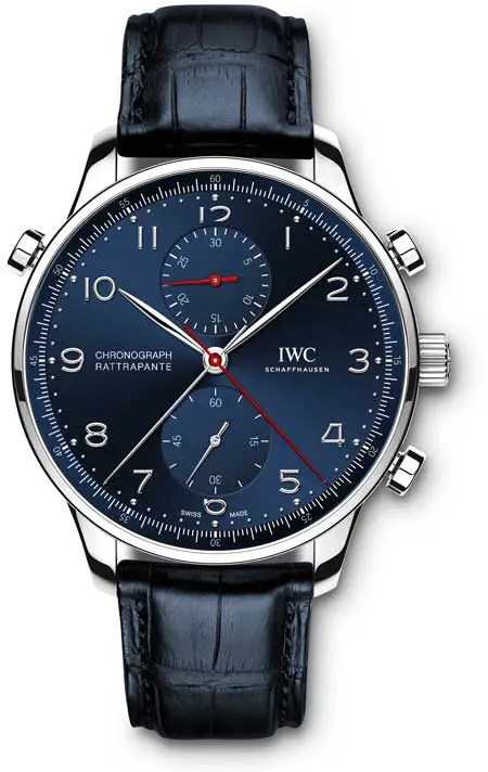 "Portugieser Chronograph Rattrapante ""Edition Boutique Munich""."