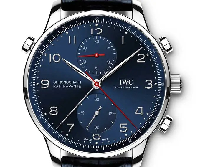 iwc portugieser chronograph rattrapante edition boutique munich. Black Bedroom Furniture Sets. Home Design Ideas