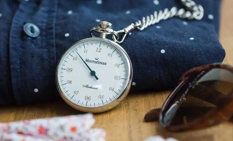 Meister Singer Pocket Watch