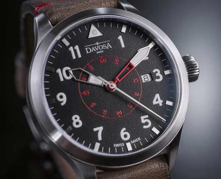 davosa-neoteric-pilot-schwarzes zb