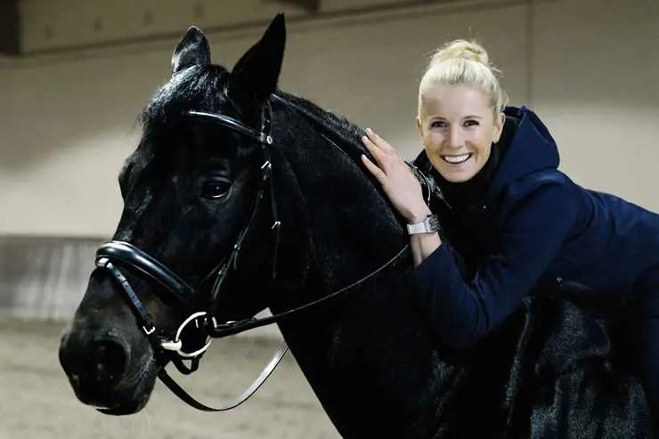 Deutsche Dressurreiterin Jessica von Bredow-Werndl jetzt Richard Mille Sportpartner