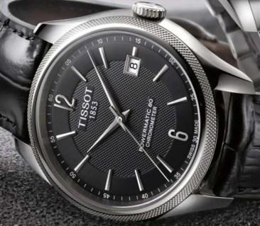 Tissot Ballade: Chronometer mit Unruh-Spiralfeder aus Silizium