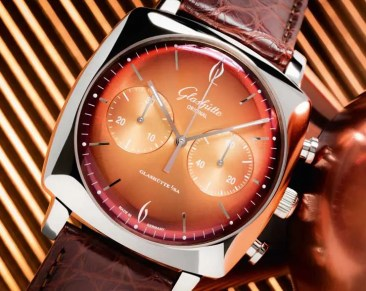 Glashütte Original Sixties Iconic Square Collection im Hipster-Style