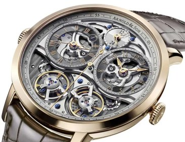 Arnold&Son DBG Skeleton: GMT-Anzeige neu interpretiert