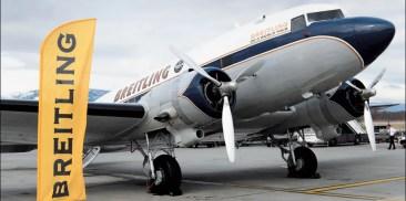Breitling DC-3 startet große Weltumrundung