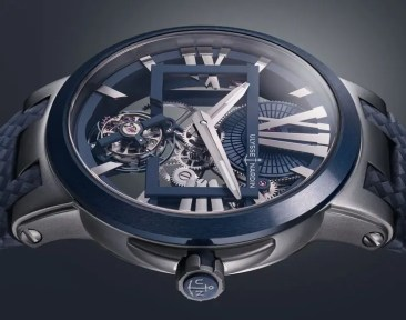 Markante Transparenz: Ulysse Nardin Executive Skeleton Tourbillon Blue
