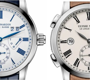 Zweimal Classic Dual Time Enamel von Ulysse Nardin
