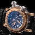 Visconti Abyssus Pro-Dive 3000M Titanium-Bronze
