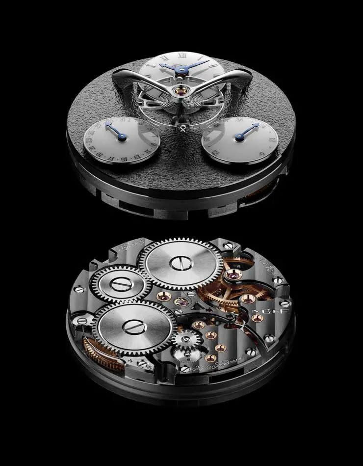 MB&F Legacy Machine Split Escapement_Ruthenium