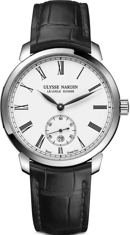 Ulysse Nardin Classico Manufacture white enamel