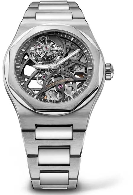 Laureato Flying Tourbillon Skeleton Weissgold