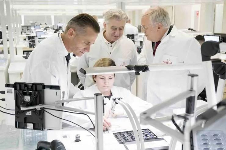 Omega eröffnet neue Produktionsstätte im Schweizerischen Biel