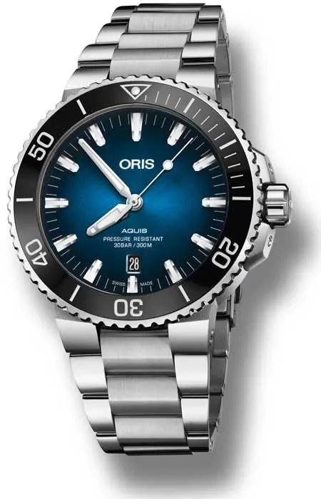 Oris Clipperton Limited Edition Edelstahlband