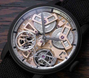 Arnold & Son Tourbillon Chronometer No. 36 in Gunmetal-Grau