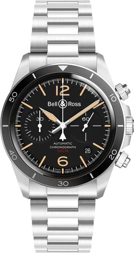Bell & Ross BR V2-92 Steel Heritage
