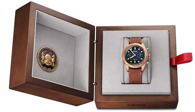 Oris Carl Brashear Chronograph Limited Edition