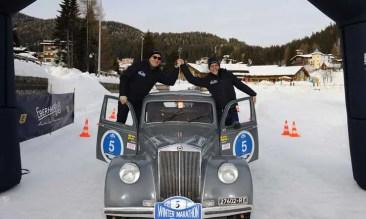 Eberhard & Co ehrte die Sieger des Winter Marathon 2018