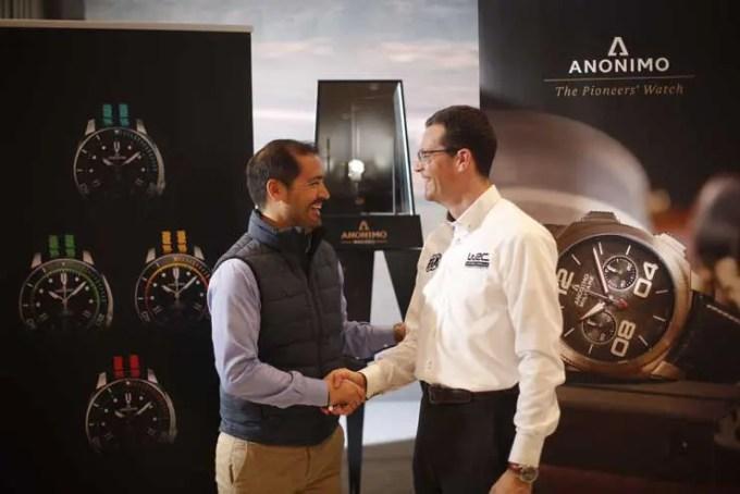 ANONIMO wird offizieller Zeitnehmer der WRC