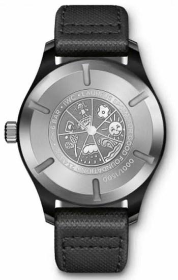 IWC Pilot's Watch Mark XVIII Edition Laureus Sport for Good Foundation
