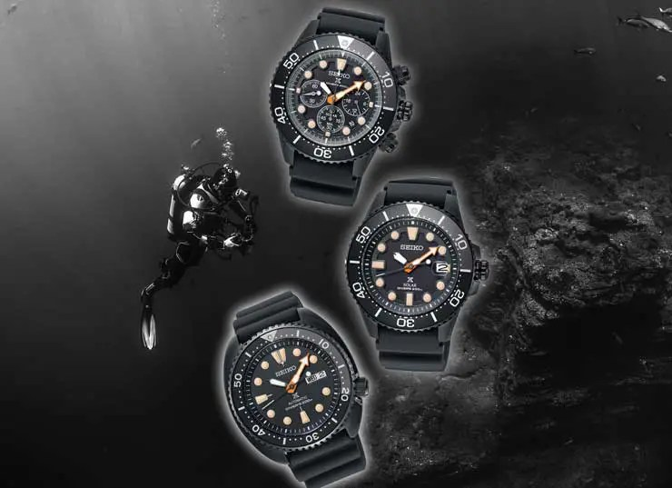 Seiko Prospex Black Series Diver's