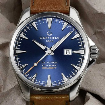 Baselworld Preview: Certina DS Action Big Date Automatic