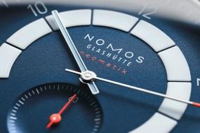 Nomos Autobahn neomatik 41 Datum: mit bestem Motor aus Glashütte