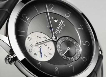 Die neue Slim d´Hermès GMT: elegant um die Welt