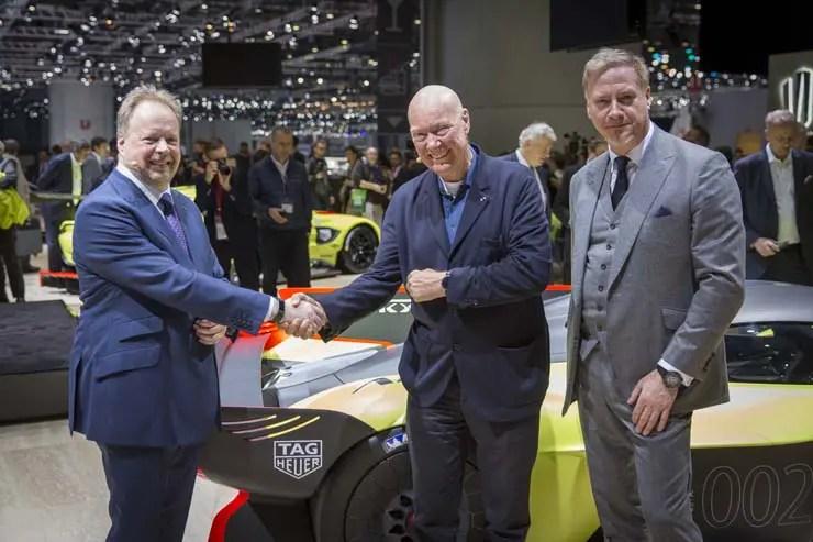 TAG Heuer wird offizieller Partner von Aston Martin