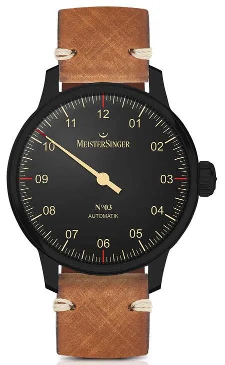 MeisterSinger Black Line Nr. 3