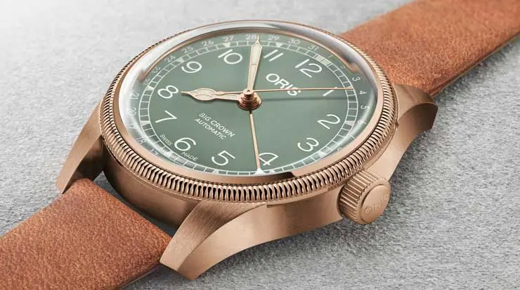 Oris Big Crown Pointer Date Bronze