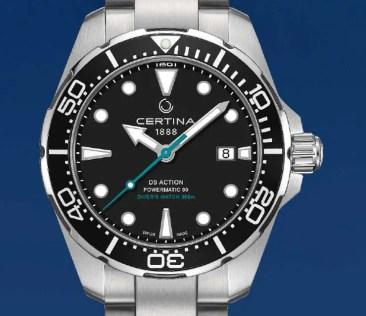 Certina DS Action Diver Sea Turtle Conservancy