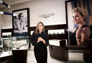 Longines begrüßt Botschafterin der Eleganz Kate Winslet in New York