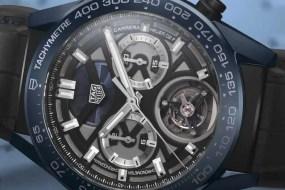Carrera Chronometer mit Chronograph und Tourbillon Tête de Vipère