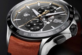 Ready to ride: Baume & Mercier Clifton Club Indian