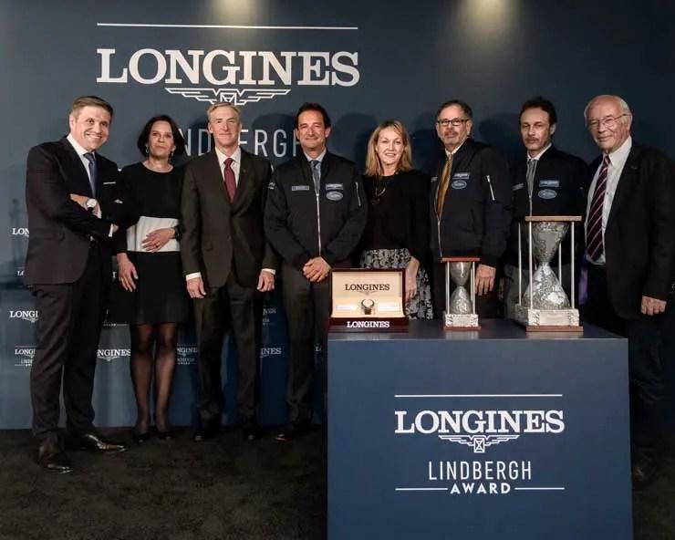 1. Longines Lindbergh Award