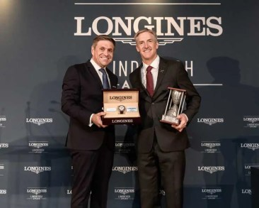 1. Longines Lindbergh Award für Erik Lindbergh, Enkel der Fliegerlegende