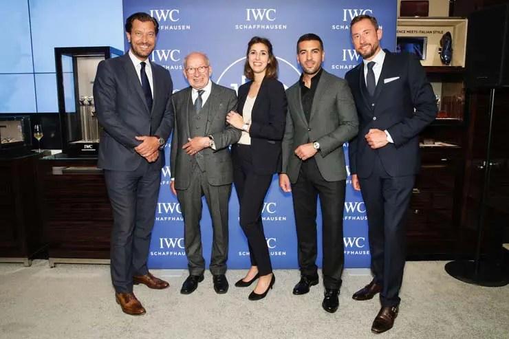 IWC feierte 150-jähriges Bestehen in der IWC-Boutique München