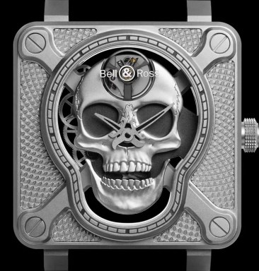 Bell&Ross BR 01 Laughing Skull: Memento Ridere