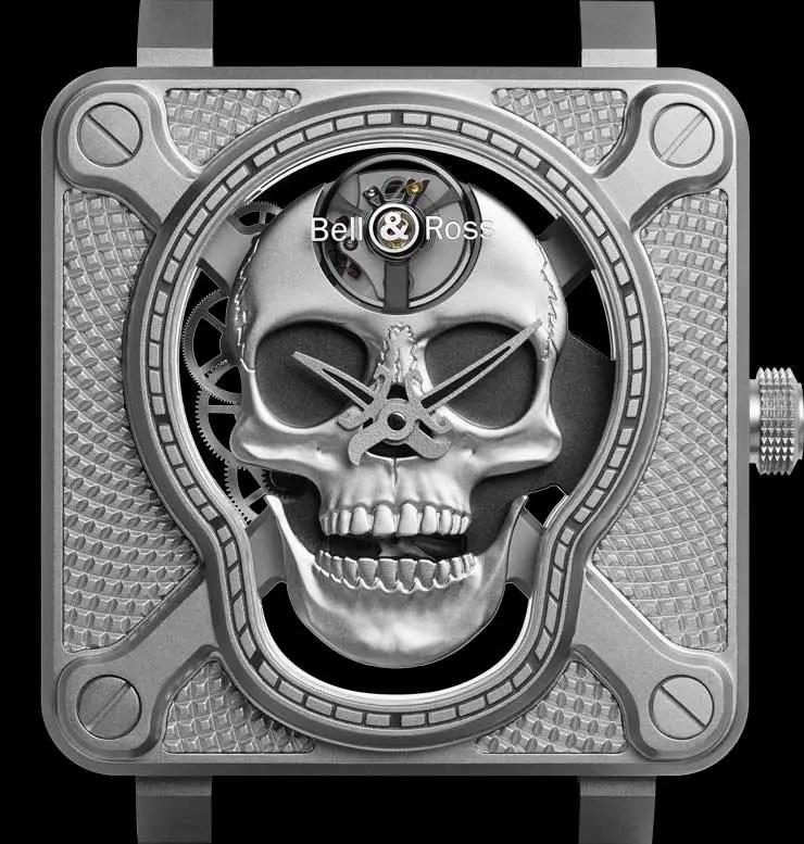 Bell&Ross BR 01 Laughing Skull: Memento Ridere