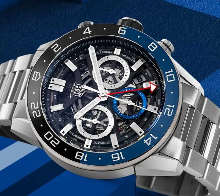 55 Jahre TAG Heuer Carrera: die neue Carrera Heuer 02 GMT